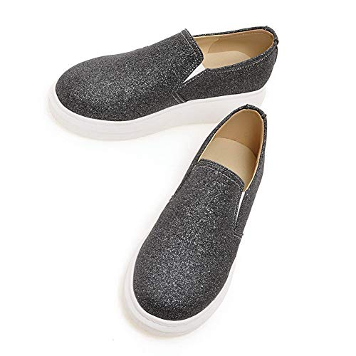 Sandales EU Noir Femme Noir 36 BalaMasa 5 APL10440 Compensées Rq8T5T