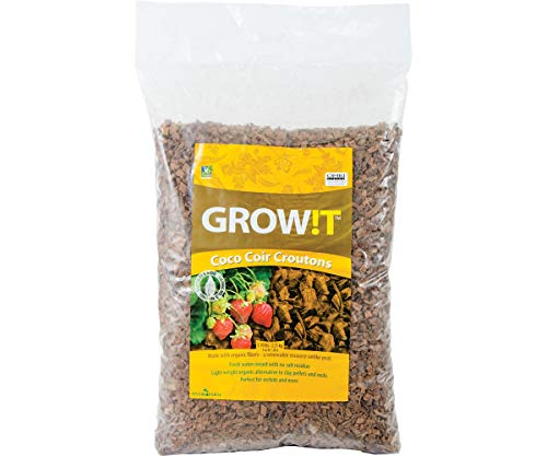(Hydrofarm Growt AD113000 Coco-Can Croutons, 28 Liter, 28 L )
