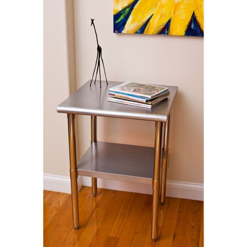 TRINITY EcoStorage Stainless Steel Table | 24'' x 24'' x 35"