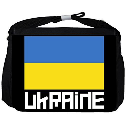 Ukraine -Flagge - Unisex-Umhängetasche