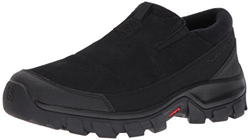 Black Shoes Mens Salomon Closed snowclog Black Black Slip Toe On 0PAqHT