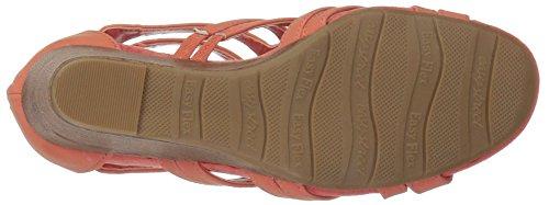 Easy Street Womens Sandal Koraal Met Sleehak