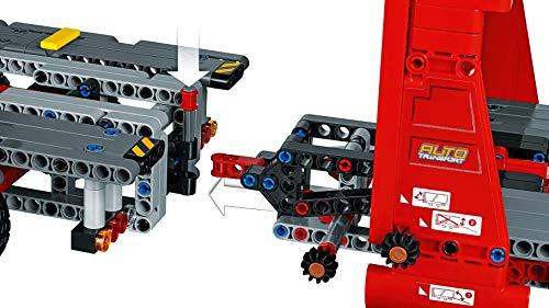 LEGO - Technic Bisarca con Auto da Trasportare,Modello 2in1,Set di Costruzioni Avanzato, 42098 7 spesavip