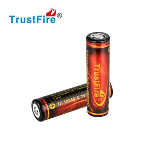 Tharv❤Lot 3000mAh 18650 Battery 3.7V Li-ion High Drain Rechargeable Batteries for LED Red