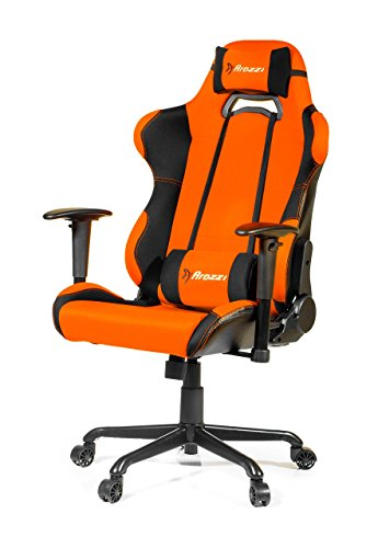Arozzi Torretta XL Series Racing Style Gaming Chair, Orange