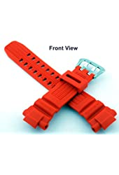 Casio #10370830 Genuine Factory Replacement Band for G Shock Watch Model GW3000M-4AV (Orange)