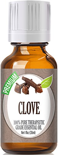 Clove (30ml) 100% Pure, Best Therapeutic Grade Essential Oil - 30ml / 1 (oz) Ounces (Best Pain Pill For Toothache)