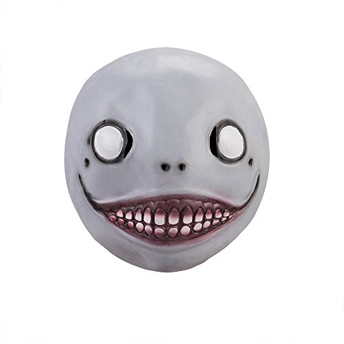 Creepy Mask,Novelty Latex Scary Clown Halloween Costume Corpse Party Accessories Emil Overhead Mask -by Simply-Me