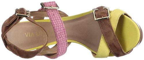 Creased marron Creased Sandales femme 21195601 3 Leather Uno Iguana Tr Via b1 IUw7RqU