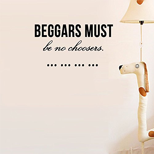 Beggars must be no choosers. Wall Sticker Family DIY Decor Art Stickers Home Decor Wall Art For Living Room Bedroom Office Home Decoration - Glasses Chooser