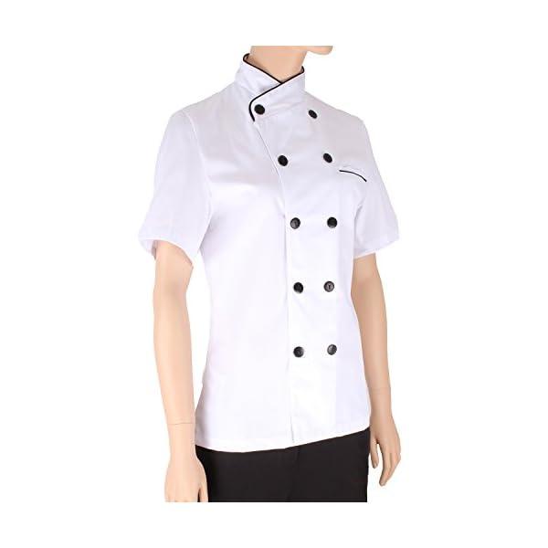 MISEMIYA - Chaquetas Chef Uniforme COCINERA MARMINTÓN SOLLASTRE GUISANDERO ADOBADOR Salsero- Ref.8441 5
