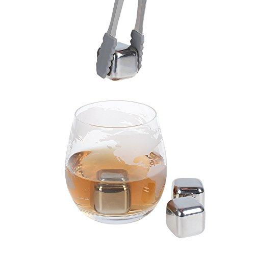 NEX Liquor Decanter with Glass Airplane 1500ml Globe Decanter for Spirits Scotch Bourbon Vodka Rum Wine Tequila Brandy Whiskey Gifts by NEX (Image #2)