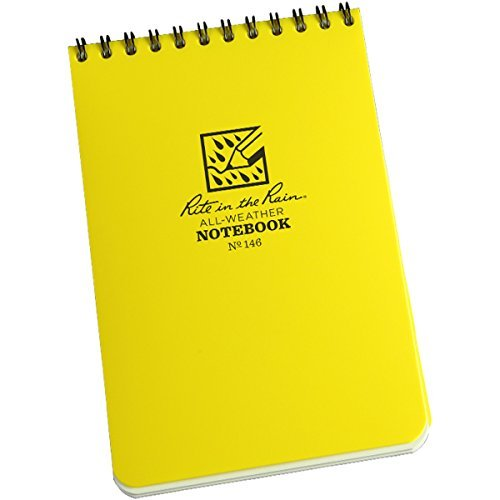 All Weather Planner (Rite In The Rain - All-Weather Pocket Journal (4 x 6) Color: Yellow Model: 146 Office Supply Product)