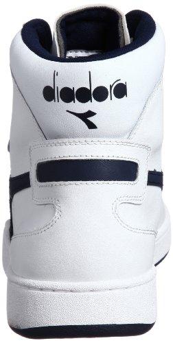 Diadora Mi Basket–Zapatillas deportivas altas Unisex adulto, Bianco, 7