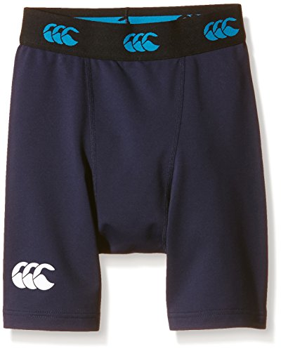 Canterbury Compression Leggings - Canterbury Cold Junior Baselayer Shorts - SS16 - Large - Navy Blue
