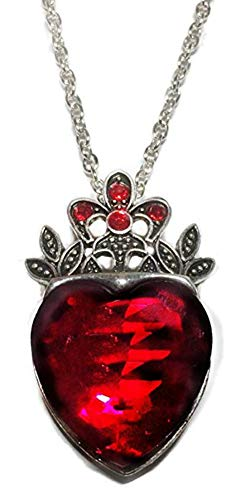 Disney's Descendants Evie Red Heart Pendant Necklace ()