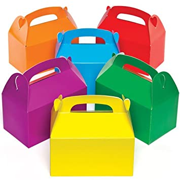 Baker Ross Cajas de Regalo de Colores Que los niños Pueden adornar, Decorar y llenar de obsequios (Pack de 6).: Amazon.es: Juguetes y juegos