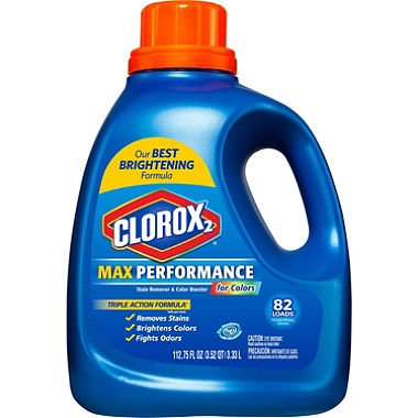 Clorox 2 MaxPerformance, Laundry Stain Remover & Color Booster (112.75 oz.) (pack of 6) by Clorox