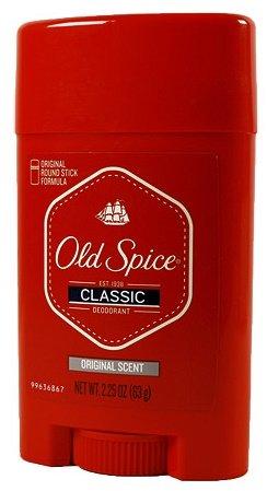 Old Spice Classic Deodorant, Original Round Stick Formula, Original Scent, 2.25 Oz (Pack of (Stick 2.25 Ounce Stick)