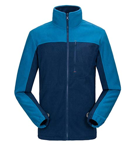 Quick Clothing Men's Travel Fleece Liner Blue Climbing Jacket drying Outdoor 3 in 1 4rdHqdnIP