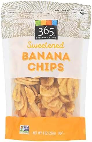 Dried Fruit & Raisins: 365 Everyday Value Sweetened Banana Chips