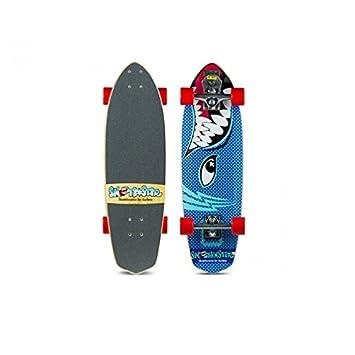 Smoothstar Barracuda Skateboard, Unisex Adulto, Azul, Talla Única: Amazon.es: Deportes y aire libre