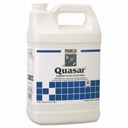 Quasar Floor Finish - Franklin Cleaning Technology F136022 Quasar High Solids Floor Finish, Liquid, 1 Gallon Bottle (Case of 4 Gallons)