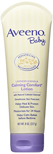 Aveeno Baby Calming Comfort Lotion, Lavender & Vanilla, 16 Ounce