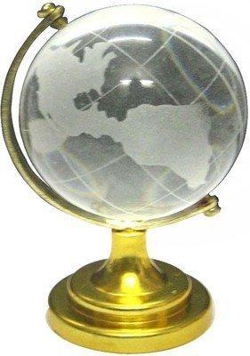 (Divya Mantra Feng Shui Crystal Globe Transparent)