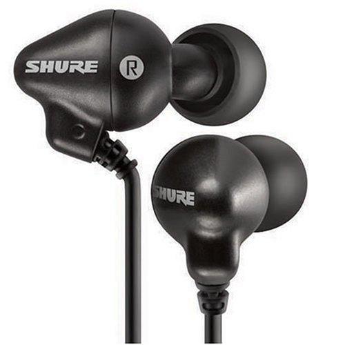 Shure E2c-n Sound Isolating Earphones (Black) by Shure