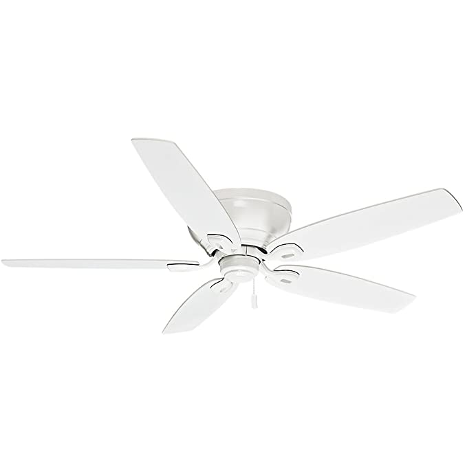Casablanca 54103 Durant 54 Inch Snow White Ceiling Fan With Five