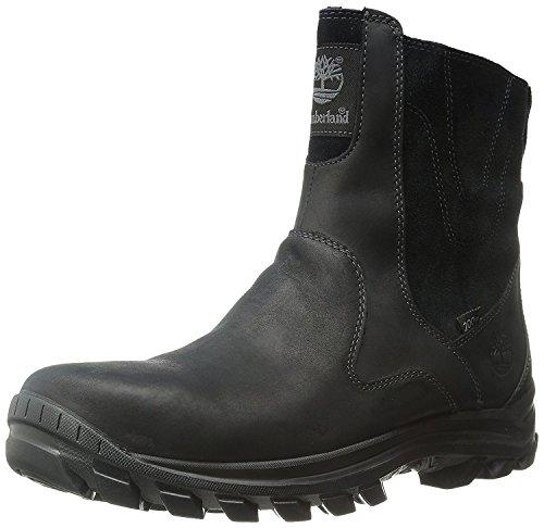 Timberland Mens Chillberg Mid Side-Zip INS Waterproof Winter Boot, Black, 50 D(M) EU/14.5 D(M) UK