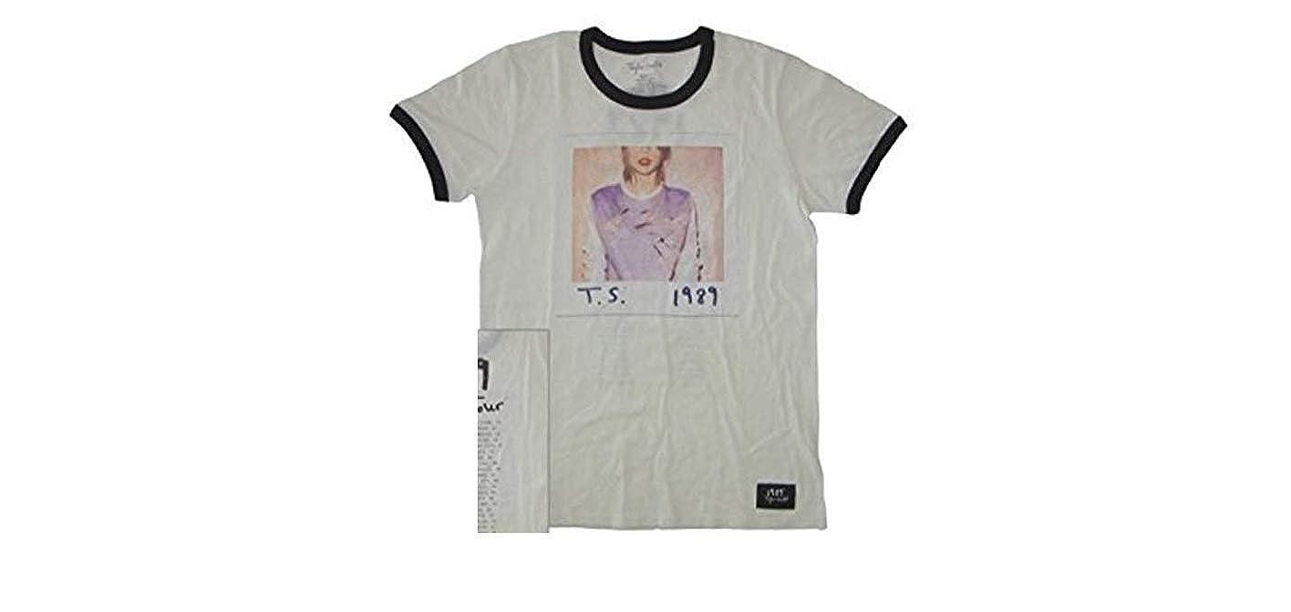 e99c03bc3 Amazon.com: Taylor Swift 1989 Album Cover Tour Ringer Tee T-Shirt Small,  Medium, Large (X-Small): Clothing