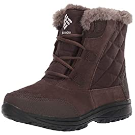 Columbia Women's Ice Maiden Shorty Winter Boot, Waterproof Leather