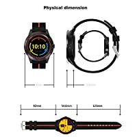 Diggro DI02 Bluetooth Smart Watch MTK2502C 128MB+64MB Microphone Speaker Siri Support Heart Rate Monitor Sport Pedometer Sedentary Reminder Sleeping Monitor Two-way Anti-Lost for Android&iOS by Diggro