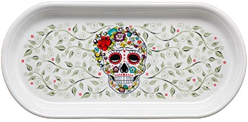 Fiesta Bread Tray - Skull & Vine - Sugar - Fiesta Serving Tray