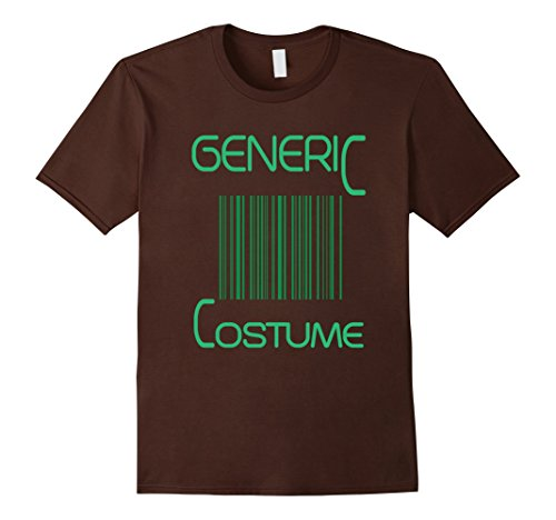 [Men's FUNNY GENERIC HALLOWEEN COSTUME T-SHIRT 3XL Brown] (Father And Daughter Halloween Costume Ideas)