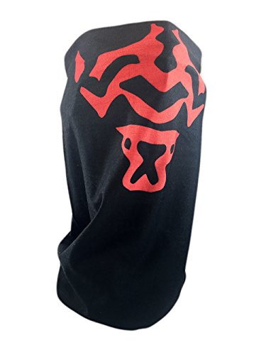 Star Wars Tube Face Mask, Balaclava, Neck Gaiter, Bandanna (Darth Maul)