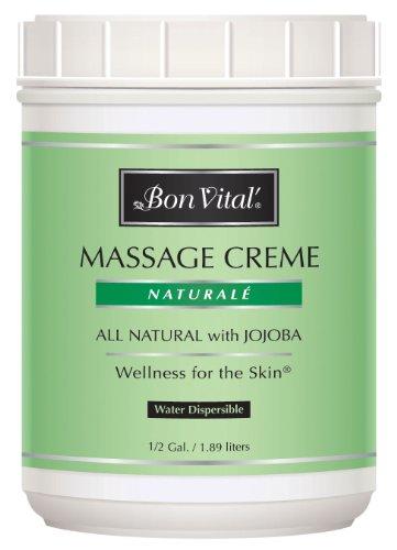 Bon Vital Naturale Massage Creme, 1/2 Gallon Jar ()