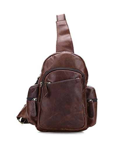 Sucastle Leather Capacity Shoulder Men's Vintage Bags 1 Large Briefcases Messenger Design 3 FFqSyrw5