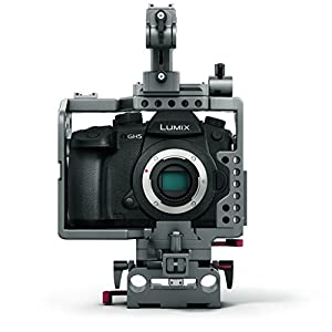 TILTA ES-T37 Panasonic GH4 GH5 Mirrorless Camera Lightweight rig Cage supports 15mm rod release baseplate Top Handle Stabilizers