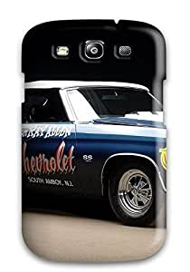 Durable Defender Case For Galaxy S3 Tpu Cover(chevy)