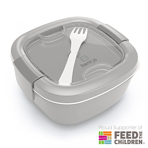 Bentgo  Eco-Friendly & BPA-Free Lunch Container, Large 54 oz, Gray
