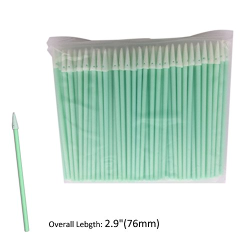 Cleanmo PCB Board Cleaning Swabs, Cleanroom Lint Free Pointed Foam Tips, Pack of - Swabs Cleaner