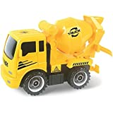 Construct A Truck - Mixer. Take it apart & put it back together + Friction powered(like 2-toys-in-1!) Awesome award winning toy that encourages creativity!