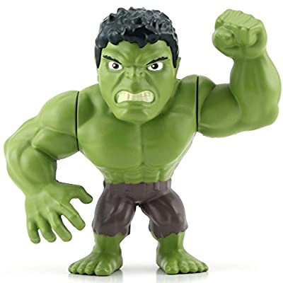 Metals Marvel 4 inch Classic Figure - Hulk (M58): Toys & Games