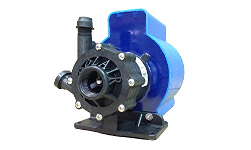"Air Conditioning Seawater - KOOLAIR PUMP SPM1000-115, Submersible, 115 Volts, Marine Air Conditioning Seawater 870 GPH Magnetic Drive Pump, 56"" Cord, Inlet 1"" FPT x Outlet 1/2"" MPT, Intertek ETL-Certified"