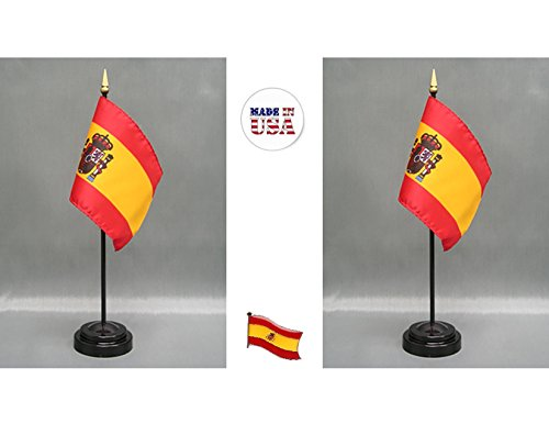Made in The USA. 2 Spain Rayon 4