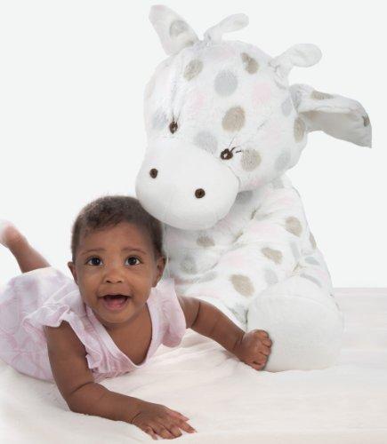 """Little Giraffe BiG G Luxe Dot Plush Toy - Pink, 24"""""""