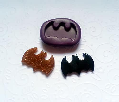 Silicone Mold Batman Bat Mould (27mm) Fondant Cake Topper Clay Chocolate Resin